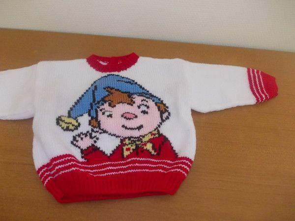 modele tricot gratuit dessin anime